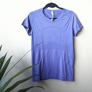 Lululemon Swiftly Tech Purple Scoop Shirt size 12